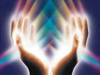 Open hands to give and receive freely